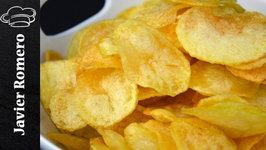 Como hacer patatas chips muy crujientes