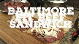 How to Make Baltimore Pit Beef Sandwich