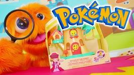 New Pokemon Toy Figures Unboxing Pokémon Toys Pikachu Etc Old Castle Of Huge Tree Unboxing Opening