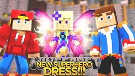 BABY ANGEL'S NEW SUPERHERO DRESS!!! - Minecraft - Little Donny Adventures