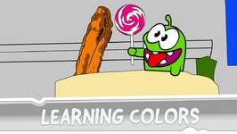 Learning Colors with Om Nom - The Chase