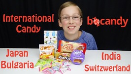 International Candy Taste Test Bulgaria Switzerland Japan India