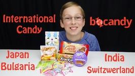 International Candy Taste Test Bulgaria Switzerland Japan India