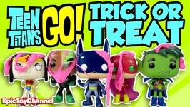 Teen Titans Go Halloween Parody Trigon Pranks Titans With Slime Teen Titans As Justice League Heros