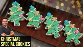 Christmas Cookies Recipe  How To Make Holiday Cookie In Oven  Cookie Recipe By Varun Inamdar