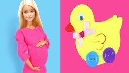 Cute and Easy DIY Miniature Barbie Doll Baby Accessories