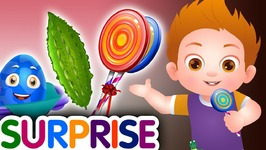 Surprise Eggs Nursery Rhymes Toys - Learn Taste Colours and Objects for Kids - ChuChu TV Egg Surprise