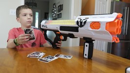 Nerf War - The Battle Of Top Trumps