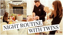 Night Routine with 11 Month Twin Girls