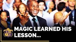 Magic Johnson Learns His Lesson
