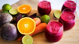 Power Breakfast Smoothie With Beetroot - Carrot And Coconut Milk