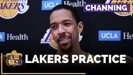 Lakers Channing Frye Talks About Playing With A Young Team, Veteran Role
