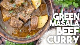 Tasty And Easy Green Masala Beef Curry