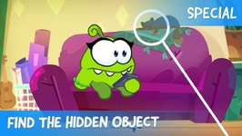Find the Hidden Object Ep 30 - Om Nom Stories- Cooking Time - Cartoons for children