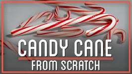 Turning Sugarcane Into Candy Canes  HTME