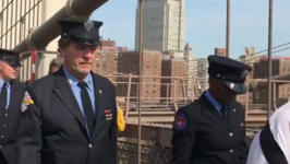 New York Fire Department Remembers 9/11