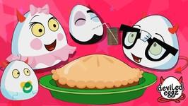 Deviled Eggz On A Picnic - New Kids show - Fun Cartoons - Funny Eggz - Kids Video