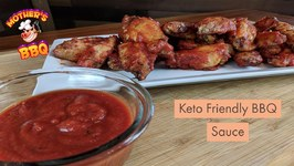 Keto Friendly BBQ Sauce - Low Carb Chicken Wing