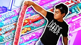 DIY How To Make GIANT NERDS ROPE