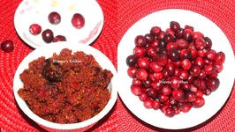 Hot Cranberry Pickle -Tikha Achar