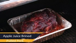 Traeger Apple Juice Brined Pulled Pork