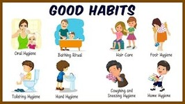 Daily Activities For Kids - Good Habits And Manners For Kids - Preschool Learning For Kids