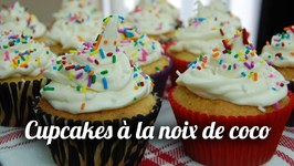 Mini Cakes/ Cupcakes À La Noix De Coco