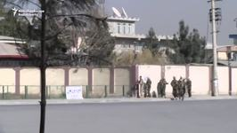 Security Forces Exchange Fire With Kabul TV Station Attackers