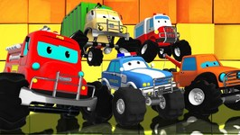We Are The Monster Trucks - Road Rangers - Cartoons For Children