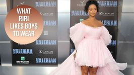 Rihanna's style advice for guys