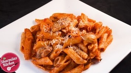 Red Sauce Pasta - Mushroom Pasta In Creamy Tomato Sauce With Indian Twist