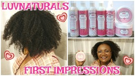 Luv Naturals - First Impressions - Washngo Turned - Twistout - Luvnaturals
