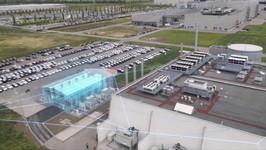 BMW Battery Storage Farm Leipzig Animation