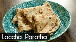 How to make Laccha Paratha  Paratha Recipes  The Bombay Chef  Varun Inamdar