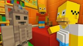 Bart Simpson Toy Robot  The Simpsons  Minecraft Xbox 35