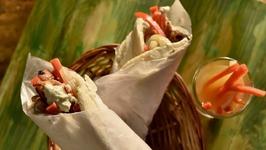 Homestyle Shawarma - Chicken Shawarma - Homemade Chicken Shawarma - Chicken Roll