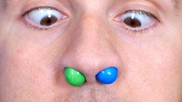M&M's Stuck in Nose