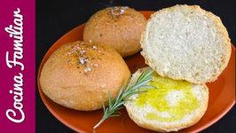 Receta de pan de aceite con aroma de romero paso a paso