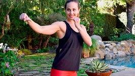 19 min Bikini Body Cardio Workout - Tight Butt And Flat Abs Program - Day 3
