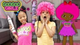 I Love My Hair Goo Goo Gaby! (Goo Goo Girlz Pretend Play Hair Salon)