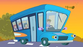 Wheels On The Bus - Kids Tv Nursery Rhymes For Toddlers - Cartoon Videos For Children