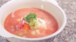 Watermelon Cucumber Gazpacho - Rule Of Yum Recipe
