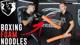 Using Foam Pool Noodle Drills for Improving Boxing Defense