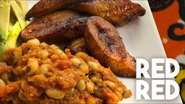 How To Make Red Red - Bean Dish From Ghana Served With Fried Plantains