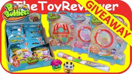 Bbuddieez Series 1 Blind Bags Starter Playhouse OPEN GIVEAWAY Unboxing Toy Review