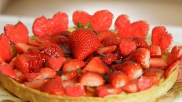 Strawberry Tart Recipe - How To Make Strawberry Tart