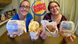 Burger King Big Fish And We Were Wrong -Gay Family Mukbang -Eating Show