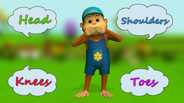 Head Shoulders Knees and Toes- Children's Popular Nursery Rhymes