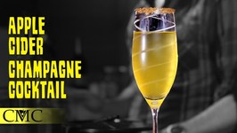 How To Make The Apple Cider Champagne Cocktail