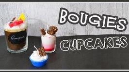 Bougies Cupcakes / Cupcakes Candles